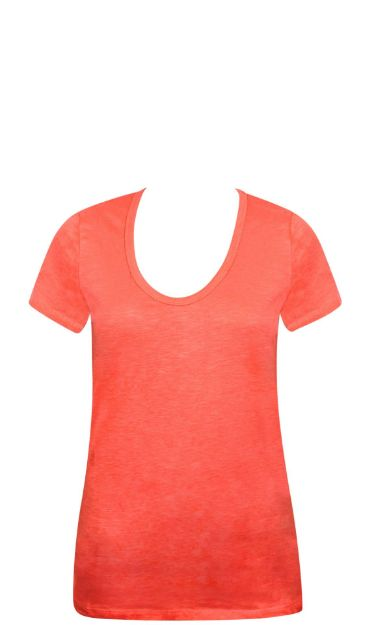 Picture of Ladies Solid T SHirt