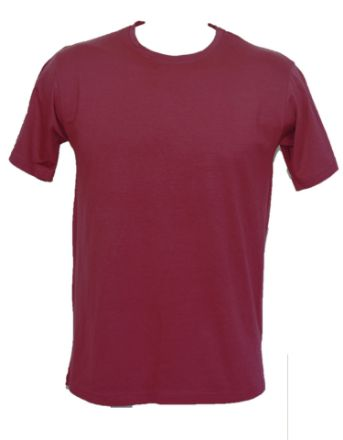 Picture of Round Neck  Solid T Shirt