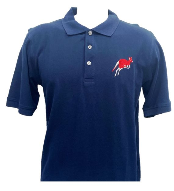Picture of Polo With Chest Embroidery Kangaroo
